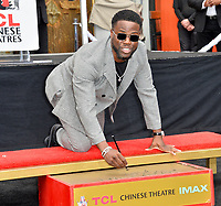 LOS ANGELES, USA. December 10, 2019: Kevin Hart at the handprint & footprint ceremony for Kevin Hart at the TCL Chinese Theatre.<br /> Picture: Paul Smith/Featureflash