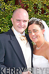Amanda, daughter of Phylis and Cal Hurley, St Margaret's Road, Killarney, and Keith, son of Nora and Denis Cummins, Douglas, Cork, who were married on Friday in St Mary's Cathedral, Killarney, by Fr Tadgh Fitzgerald. Best man was Timmy Fitzgerald and groomsmen were Denis O'Keeffe and Joseph Hurley. Bridesmaids were Mary Molloy, Erica Shine and Margaret Sheridan. Flowergirls were Alicia Cummins, daughter of bride and groom, Chloe Leahy and Kayleigh Sheridan. Pageboys were Keltyn Molloy and Roy Hurley. The reception was held at The Dromhall Hotel, Killarney. The couple will reside in Killarney.
