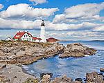 The Portland Head Light, Cape Elizabeth, Maine