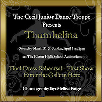 Thumbelina - Final Dance Rehearsal - First Show (03-30-2012)