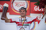 Alexander Kristoff (NOR) UAE Team Emirates wins Stage 2 of the Deutschland Tour 2019, running 202km from Marburg to Gottingen, Germany. 30th August 2019.<br /> Picture: Mario Stiehl | Cyclefile<br /> All photos usage must carry mandatory copyright credit (© Cyclefile | Mario Stiehl)