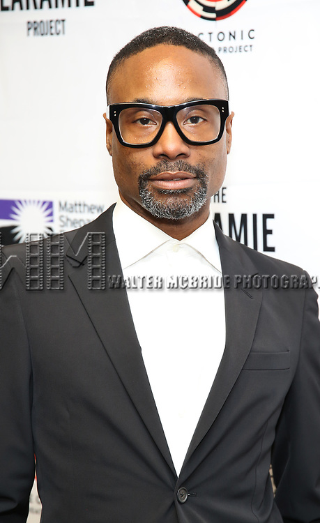 "Billy Porter attends the cast photo call for ""Laramie: A Legacy""  on September 24, 2018 at The Gerald W. Lynch Theater at John Jay College in New York City."