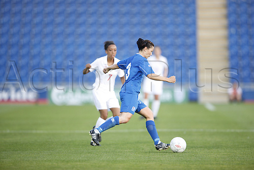 16th July 2009: England Ladies v Iceland Ladies at Colchester. Iceland win 2-0 against fellow UEFA WOMEN'S EURO 2009 finalists. England saw their year-long unbeaten run end following a goal 2 by Margrét Lára Vidarsdóttir. (Photo: Jason Hearn/ActionPlus).