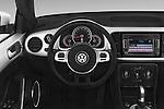 Car pictures of steering wheel view of a 2015 Volkswagen Beetle - 2 Door Convertible 2WD Steering Wheel