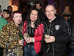 Elaine Tobin, Christine Tiernan and Noel Feeney at the Cachimbo gig in Sarsfields. Photo:Colin Bell/pressphotos.ie
