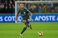 Fabian Delph of Manchester City during the EPL - Premier League match between Swansea City and Manchester City at the Liberty Stadium, Swansea, Wales on 13 December 2017. Photo by Mark  Hawkins / PRiME Media Images.