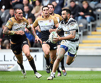 PICTURE BY VAUGHN RIDLEY/SWPIX.COM - Rugby League - Super League - Hull FC v Wigan Warriors - KC Stadium, Hull, England - 22/04/12 - Hull FC's Wade McKinnon.