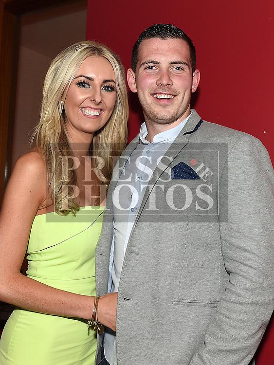 Dawn Norris celebrating her 30th birthday in Brú with boyfriend Richy Downey. Photo:Colin Bell/pressphotos.ie