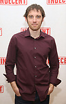 """Max Gordon Moore attends the """"Indecent"""" Media Day at Playwrights Horizons on March 13, 2017 in New York City."""