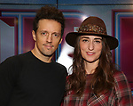 Jason Mraz attends the Jason Mraz joins the cast of  'Waitress' Press Event on October 30, 2017 at You Tube Space in New York City.