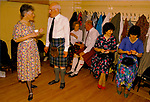 Accordion festival and Scottish Country Dance Craigie church hall Perth Scotland 1989. 1980s Scotland Uk