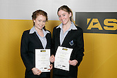 Gymnastics Aerobics Girls Finalists. ASB College Sport Young Sportsperson of the Year Awards 2006, held at Eden Park on Thursday 16th of November 2006.<br />
