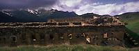 Europe/France/Provence-Alpes-Côtes d'Azur/06/Alpes-Maritimes/Alpes-Maritimes/Arrière Pays Niçois/Env de Tende: Forteresse du  Fort Central au Col de Tende, Fortifictions construites par les Italiens aprés 1882