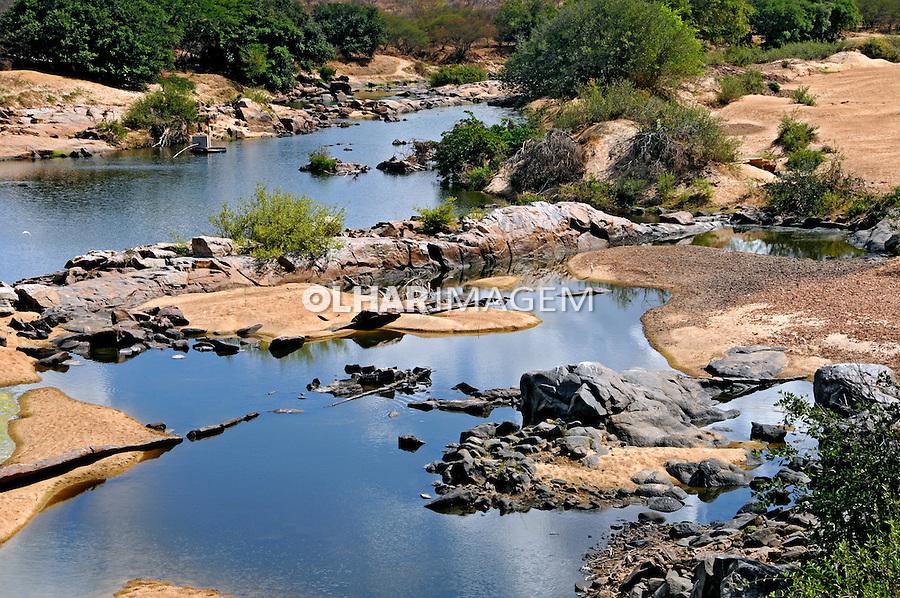 Leito seco do Rio Espinharas em Serra Negra do Norte. Rio Grande do Norte. 2009. Foto de Zig Koch.