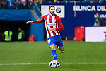 "Atletico de Madrid's Vrsaljko  during the match of ""Copa del Rey"" between Atletico de Madrid and Gijuelo CF at Vicente Calderon Stadium in Madrid, Spain. december 20, 2016. (ALTERPHOTOS/Rodrigo Jimenez)"