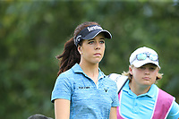 Georgia Hall (ENG) walks off the 9th tee during Thursday's Round 1 of The Evian Championship 2018, held at the Evian Resort Golf Club, Evian-les-Bains, France. 13th September 2018.<br /> Picture: Eoin Clarke | Golffile<br /> <br /> <br /> All photos usage must carry mandatory copyright credit (&copy; Golffile | Eoin Clarke)