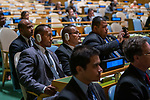 General Assembly Seventy-fourth session, 7th plenary meeting<br /> <br /> <br /> His Excellency Lionel Rouwen Aingimea, President, Republic of Nauru
