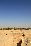 Israel, Arava, remains of the Roman fortress in Ein Hatzeva