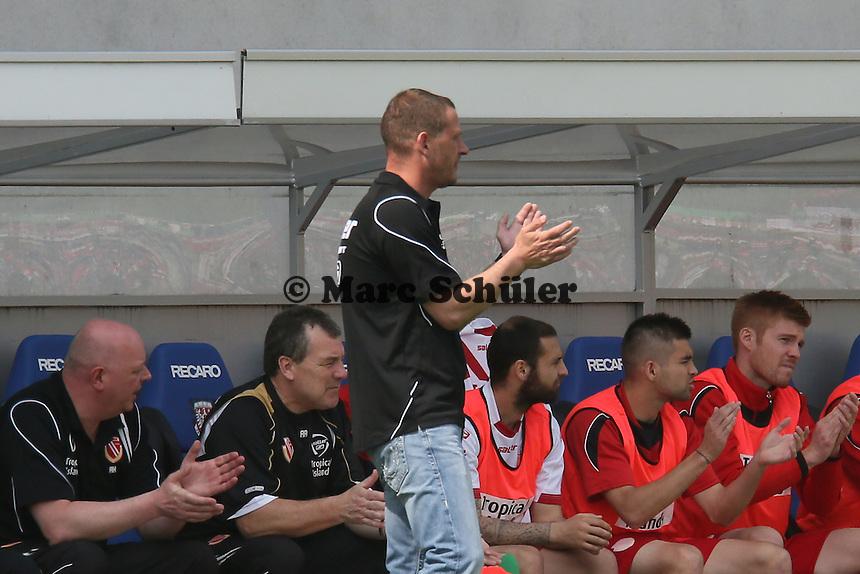 Trainer Joerg Böhme (Cottbus) - FSV Frankfurt vs. FC Energie Cottbus, Frankfurter Volksbank Stadion