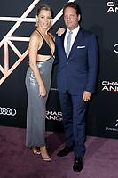 "LOS ANGELES - NOV 11:   Elizabeth Banks, Max Handelman at the ""Charlie's Angels"" Premiere at the Village Theater on November 11, 2019 in Westwood, CA"