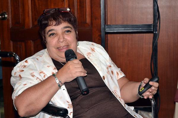 Seminario Int.Imagen de la Mujer en los medios de Comunicación. .IsabelMoya Richard- Seminarista.Foto:Saturnino Vasquez/acento.com.do.Fecha:21/03/2012