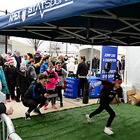Harrison, NJ - Sunday March 04, 2018: APEX, StatSport during a 2018 SheBelieves Cup match match between the women's national teams of the United States (USA) and France (FRA) at Red Bull Arena.