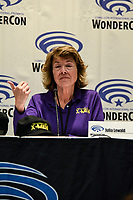 Julia Lewald at Wondercon in Anaheim Ca. March 31, 2019