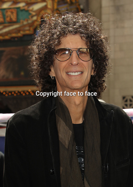 Hollywood, CA - April 22: Howard Stern Attending NBC's 'America's Got Talent' Red Carpet Event At Dolby Theatre California on April 22, 2014.<br /> Credit: RTNUPA/MediaPunch<br />