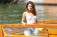 VENICE, ITALY - SEPTEMBER 01: Isabeli Fontana is seen arriving at the Hotel Excelsior during the 74th Venice Film Festival on September 01, 2017 in Venice, Italy.  Credit: John Rasimus/MediaPunch ***FRANCE, SWEDEN, NORWAY, DENARK, FINLAND, USA, CZECH REPUBLIC, SOUTH AMERICA ONLY***