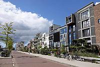 Nederland - Amsterdam - 2019. Amsterdam Noord. Nieuwbouw in Buiksloterham. Zelfbouw in de Monnikskapstraat. Foto Berlinda van Dam / Hollandse Hoogte