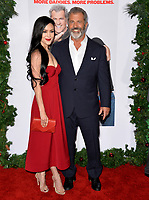 Mel Gibson &amp; Rosalind Ross at the premiere for &quot;Daddy's Home 2&quot; at the Regency Village Theatre, Westwood. Los Angeles, USA 05 November  2017<br /> Picture: Paul Smith/Featureflash/SilverHub 0208 004 5359 sales@silverhubmedia.com