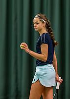 Wateringen, The Netherlands, November 27 2019, De Rhijenhof , NOJK 12 and16 years, Florentine Dekkers (NED)<br /> Photo: www.tennisimages.com/Henk Koster