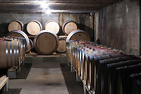 barrel aging cellar domaine bonserine ampuis rhone france
