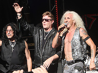 NEW YORK, NY-September 02: Eddie Ojeda, Jay Jay French, Dee Snider,of Twisted Sister performed on Fox & Friends All-American Summer Concert Series in New York. NY September 02, 2016. Credit:RW/MediaPunch