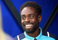 Pictured: Nathan Dyer of Swansea City Saturday 27 August 2016<br /> Re: Swansea City FC v Leicester City FC Premier League game at the King Power Stadium, Leicester, England, UK