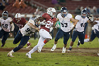 Stanford, CA - November 26, 2016: Bryce Love during the Stanford vs Rice game Saturday at Stanford Stadium.<br /> <br /> Stanford won 41- 17.