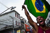 Protest march against the city's mayor (Salvador, Brazil)