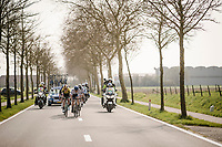 leading group on their way to Ypres after descending the Kemmelberg<br /> <br /> 81st Gent-Wevelgem 'in Flanders Fields' 2019<br /> One day race (1.UWT) from Deinze to Wevelgem (BEL/251km)<br /> <br /> ©kramon