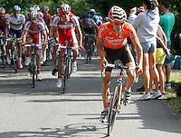 Igor Anton escapped from the peloton during the stage of La Vuelta 2012 between La Robla and Lagos de Covadonga.September 2,2012. (ALTERPHOTOS/Paola Otero) /NortePhoto.com<br /> <br /> **CREDITO*OBLIGATORIO** <br /> *No*Venta*A*Terceros*<br /> *No*Sale*So*third*<br /> *** No*Se*Permite*Hacer*Archivo**<br /> *No*Sale*So*third*