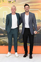 "LONDON, UK. July 30, 2019: Jamie Lang & Spencer Matthews at the UK premiere for ""Once Upon A Time In Hollywood"" in Leicester Square, London.<br /> Picture: Steve Vas/Featureflash"