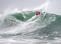 Travis Logie. 2009 ASP WQS 6 Star US Open of Surfing in Huntington Beach, California on July 24, 2009. ..