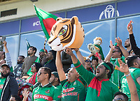 The Bangladesh fans cheer a boundary during England vs Bangladesh, ICC World Cup Cricket at Sophia Gardens Cardiff on 8th June 2019