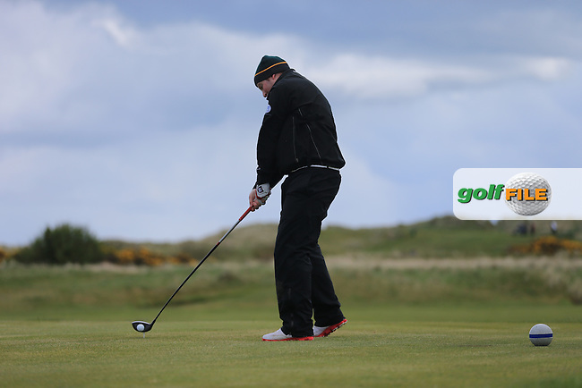 Mark Whelan (Castlewarden Golf &amp; Country Club)<br /> playing in the Etihad Airways PGA Sprint at Seapoint Golf club.<br /> Picture:  Fran Caffrey www.golffile.ie