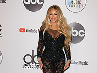 LOS ANGELES, CA - OCTOBER 09: Mariah Carey poses in the press room during the 2018 American Music Awards at Microsoft Theater on October 9, 2018 in Los Angeles, California. <br /> CAP/MPI/IS<br /> &copy;IS/MPI/Capital Pictures