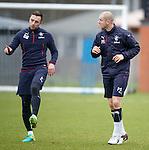 Danny Wilson and Philippe Senderos
