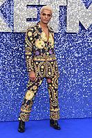 "Layton Williams<br /> arriving for the ""Rocketman"" premiere in Leicester Square, London<br /> <br /> ©Ash Knotek  D3502  20/05/2019"