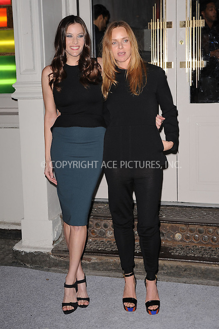 WWW.ACEPIXS.COM . . . . . .January 9, 2012...New York City....Liv Tyler and Stella McCartney attend the Stella McCartney Soho Store opening on January 9, 2012 in New York City .....Please byline: KRISTIN CALLAHAN - ACEPIXS.COM.. . . . . . ..Ace Pictures, Inc: ..tel: (212) 243 8787 or (646) 769 0430..e-mail: info@acepixs.com..web: http://www.acepixs.com .