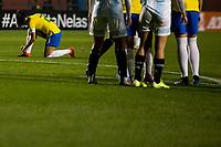 Sao Paulo, 28.08.2019 - BRASIL X ARGENTINA - Luana durante partida entre Brasil e Argentina, no estádio do Pacaembu, em São Paulo, pelo Torneio Uber Internacional de Futebol Feminino de Seleçoes.  (Foto: Carla Carniel/Código19)