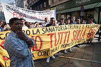 May Day Parade. Milano, 1 maggio 2011.....May Day Parade. Milan, May 1, 2011