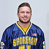 Kevin Cutinella of Shoreham-Wading River poses for a portrait during Newsday's 2017 varsity boys lacrosse season preview photo shoot at company headquarters on Saturday, March 25, 2017.